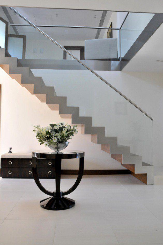 Beautiful Escalier Maison Contemporaine Images - Design Trends 2017 ...