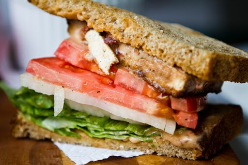 Chipotle Tofu Sandwich