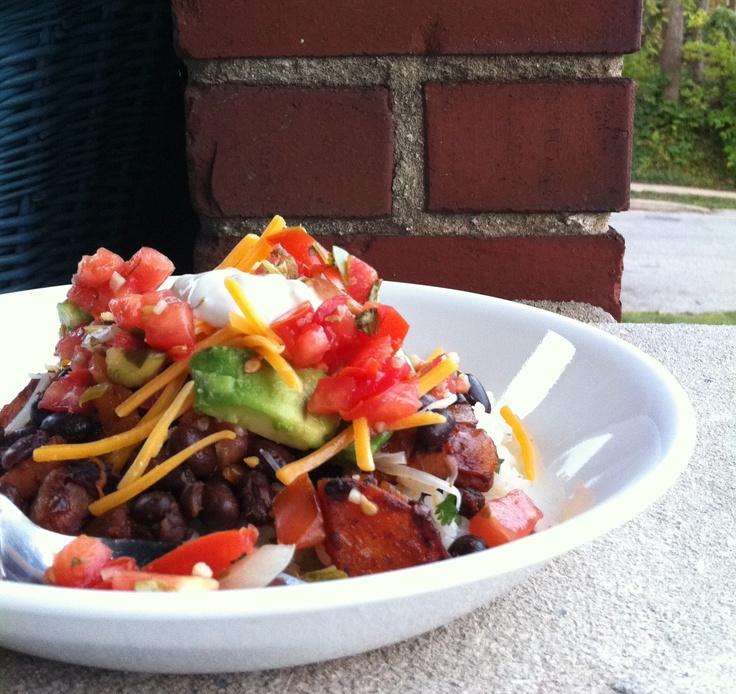 Chipotle Butternut Squash Burrito Bowls | Yummies | Pinterest