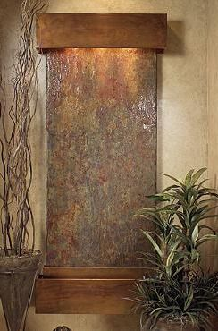 Bring nature indoors with the Greeley Falls Slate Waterfall, a perfect tranquil addition to your home's decor.