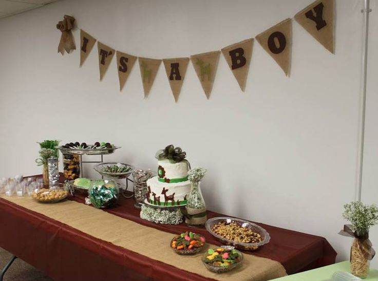 willow deer baby shower table gift and shower ideas pinterest