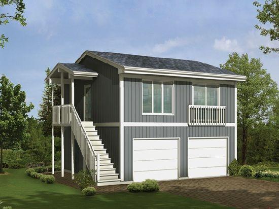 Garage apartment plans design living small pinterest for Small garage apartment
