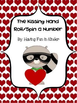 The Kissing Hand Roll/Spin a Number Freebie