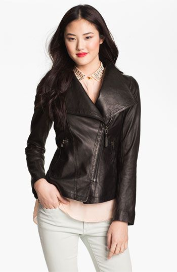 Mackage Leather Moto Jacket | Nordstrom