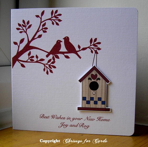New Home Card | All other non butterfly cards :) | Pinterest