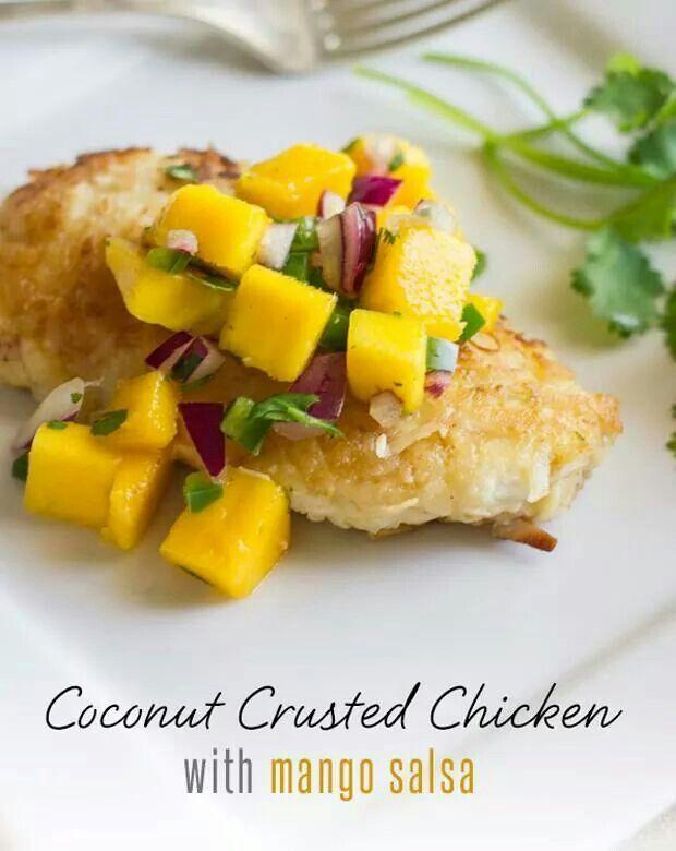 ... mango cold thai style mango coconut soup with mango relish mango salsa