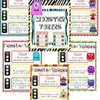 This is a stop light system in a Monster Theme! There are five different versions so you can decide which you like better!...