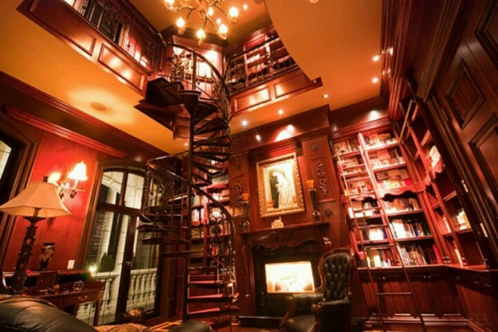 Two Story Library Libraries Reading Spaces Pinterest