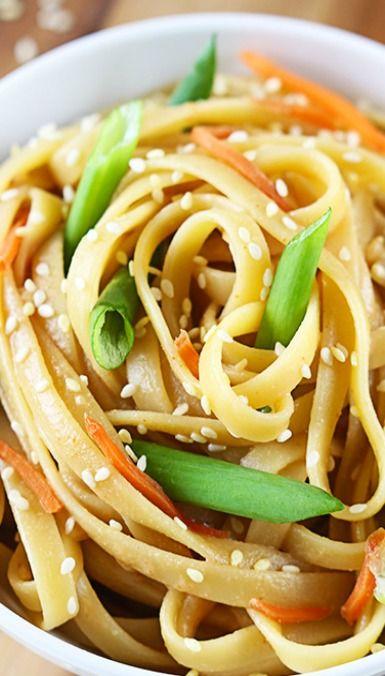Sesame Peanut Noodles | Recipe