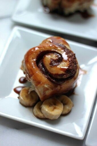 Nutella Stuffed Banana Sticky Buns | How do they taste? They taste li ...