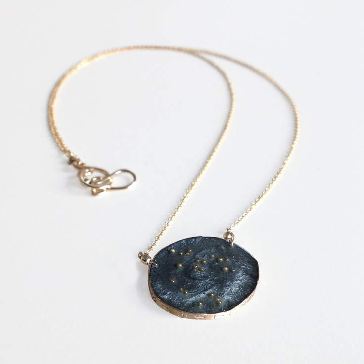 sagittarius necklace gold fill