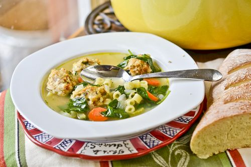 Italian Wedding Soup - delicious and easy weeknight soup, even with ...