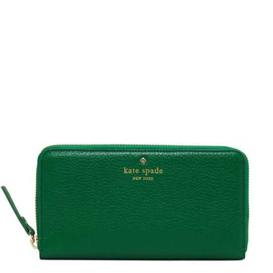 Kate Spade - Green Wallet, Cobble Hill Lacey