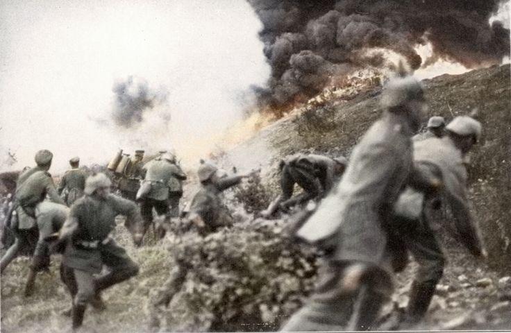 1914 verdun flamethrowers world war i historic