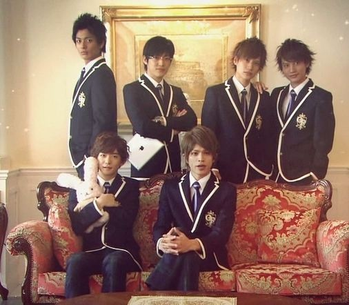 The guys from Ouran High School Host Club Live Action! A little odd ... Ouran Highschool Host Club Live Action Tamaki