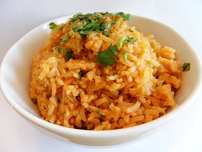 Cilantro Serrano Mexican Rice Recipe — Dishmaps