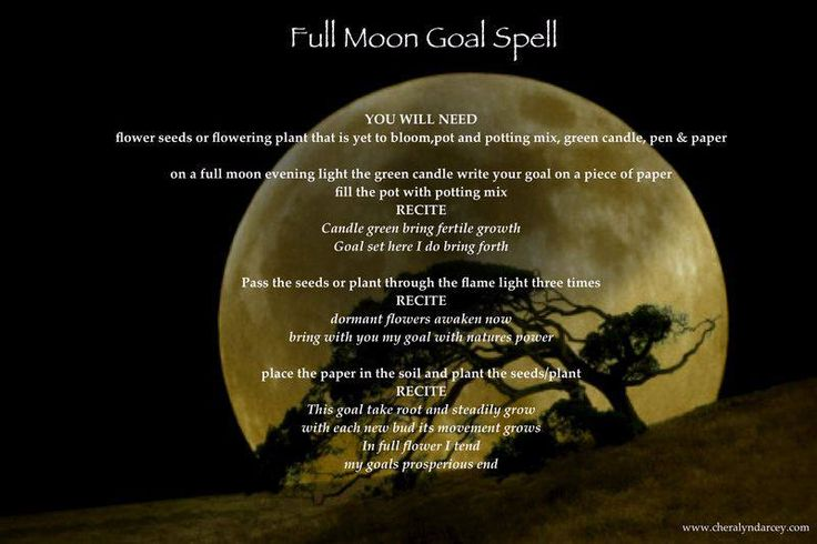 Full moon spells for love free ebook
