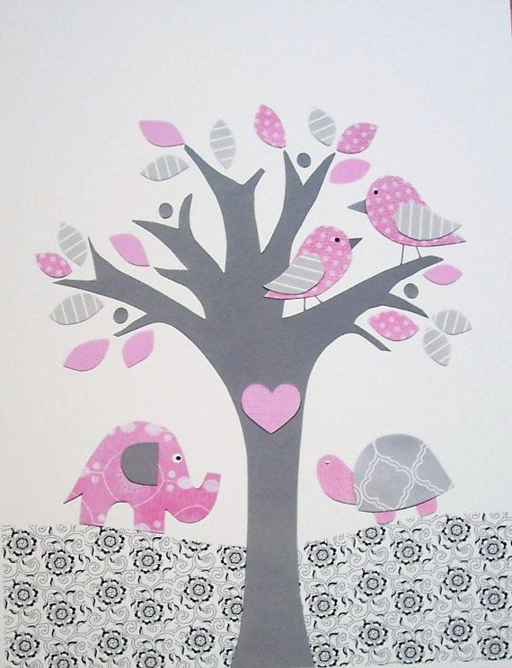 Looks like a Play Date - Kids Wall Art Baby Girl Decor Children's Room Decor by vtdesigns, $14.00