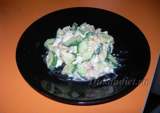 salad shrimp salad on cucumber slices shrimp salad on cucumber slices ...