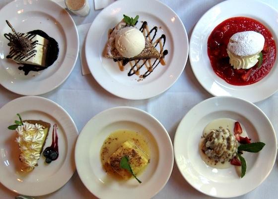 ... Strawberry Shortcake, Lemon Meringue, White Chocolate Bread Pudding