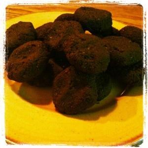 Pumpkin seed and hemp heart raw chocolate cookies | Raw Foods ...