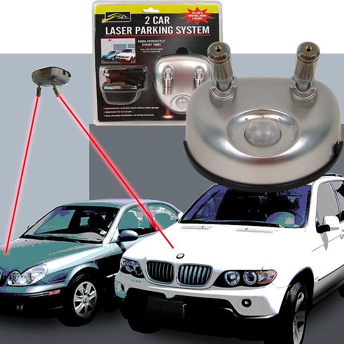 Laser parking assist within garage our next build dream
