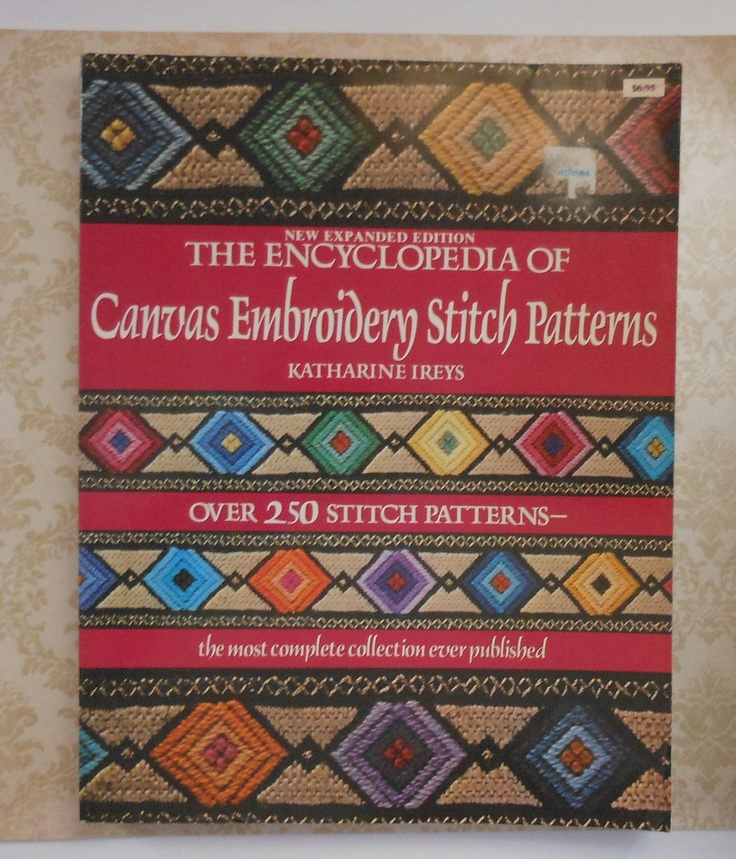 The Encyclopedia Of Canvas Embroidery Stitch Patterns Book