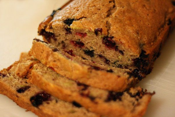 Blueberry Zucchini Bread | covet yum | Pinterest