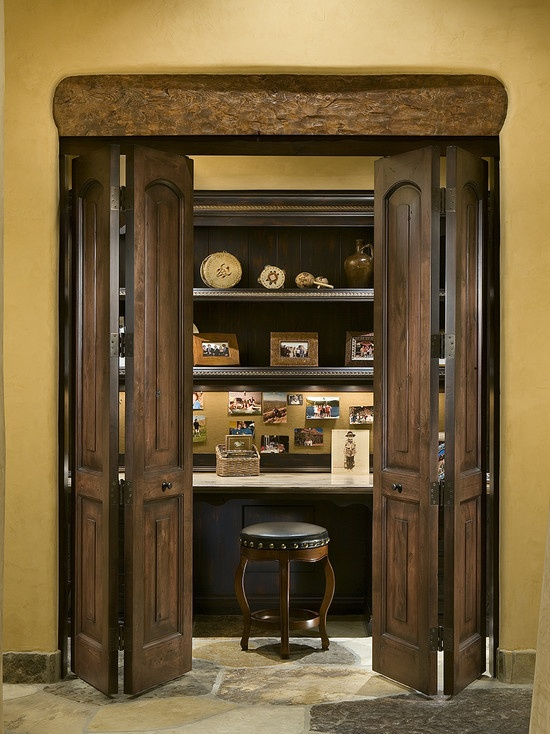 Closet office design fun house ideas pinterest - Home office closet ideas ...