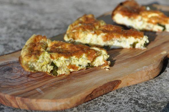 Garlic Scape Frittata | Food - Drink | Pinterest