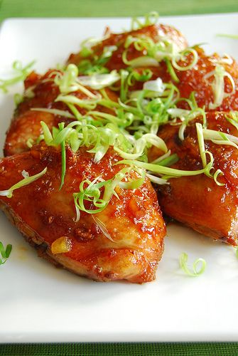 Orange ginger chicken | Recipes | Pinterest