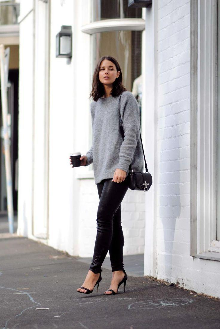 knit & skinnies. Sydney. #HarperAndHarley