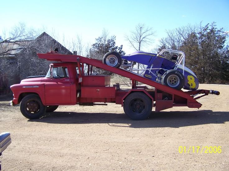 Old race cars history old race car haulers any pictures the h a
