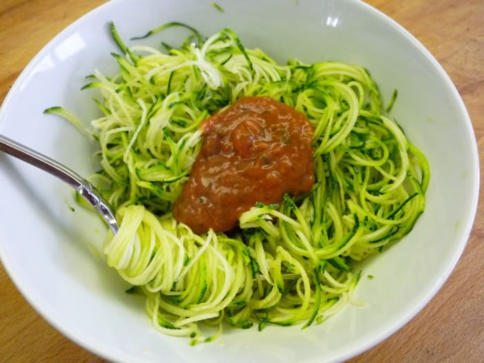 Learn how to make Zucchini Spaghetti with Fresh Tomato Sauce from ...