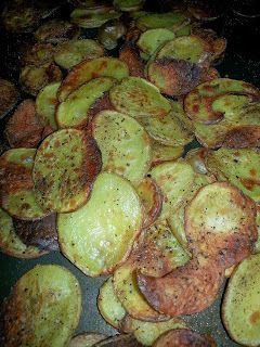 Wise Woman Once Said...: Homemade Baked Potato Chips