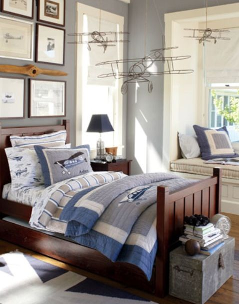 Boys And Airplanes Room Pottery Barn Kids Room Pinterest