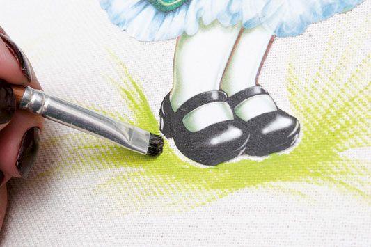 Découpage em bolsa - Portal de Artesanato - O melhor site de artesanato com passo a passo gratuito