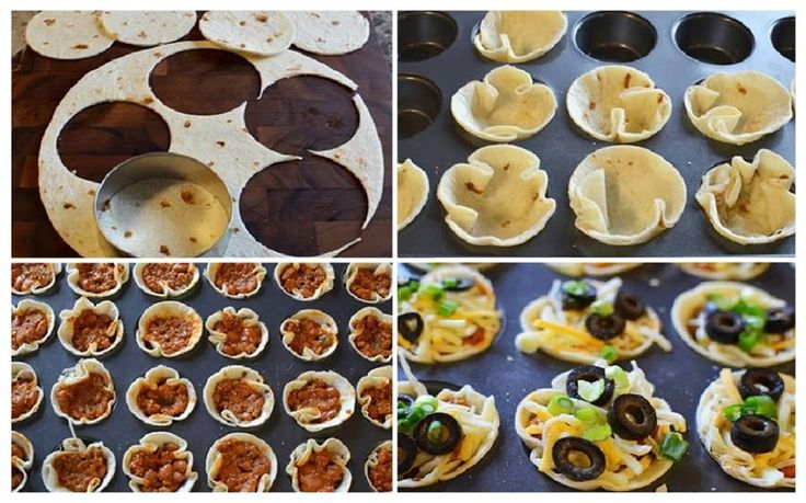 Mini Mexican Pizzas | Appeteeeeezers | Pinterest