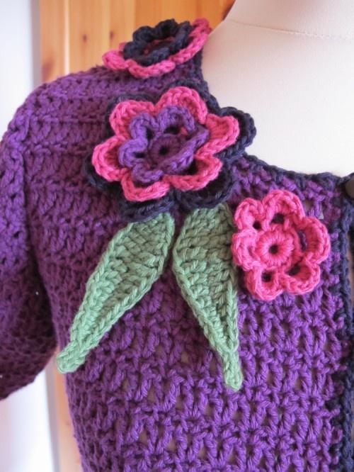 Interweave Crochet EtE/summer 2011 Flowers>Fabric-Ribbon-Crochet ...