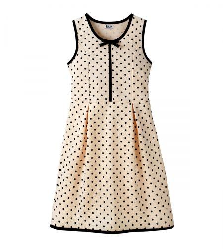 RUUM Girls 'Polka Dot Dress'