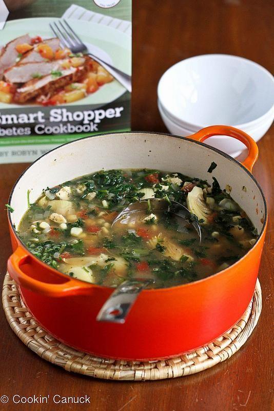 Chicken, Artichoke & Spinach Soup