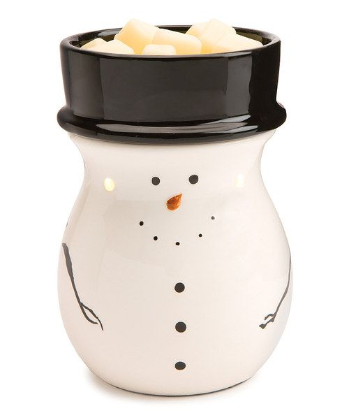 snowman illumination wax warmer. Black Bedroom Furniture Sets. Home Design Ideas
