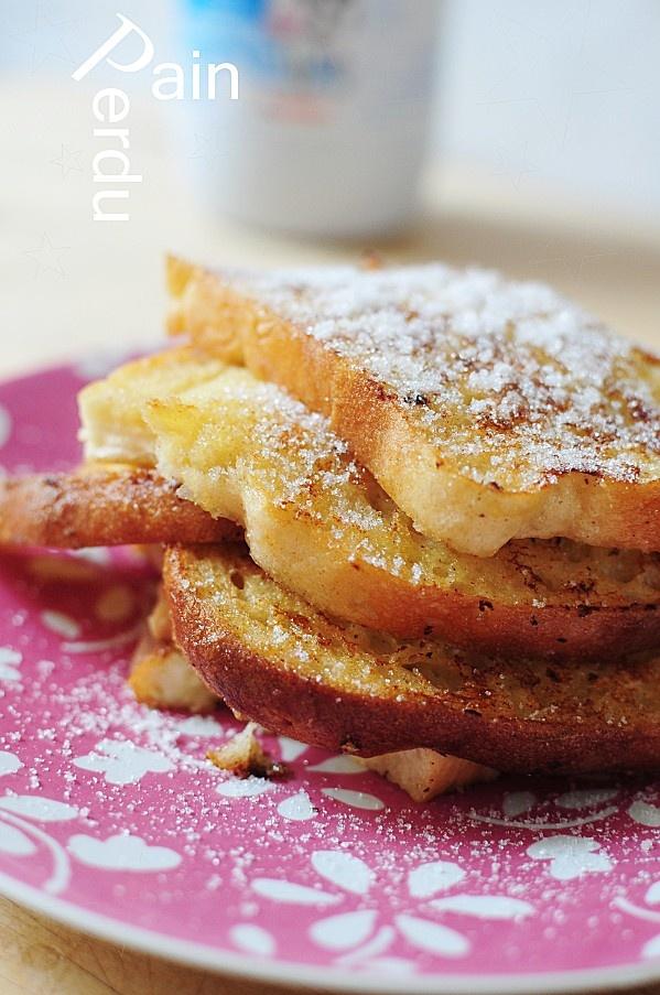 Pain perdu - French toast | Gourmand & Gourmet | Pinterest