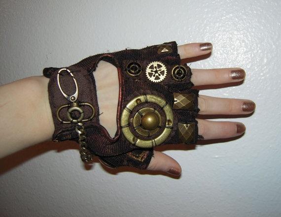 womens quotsteampunkquot moonhoar monster glove