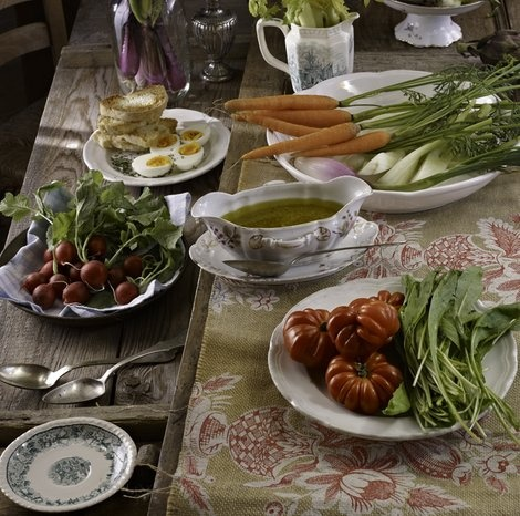 Vegetables With 'Bagna Cauda' | italian | Pinterest