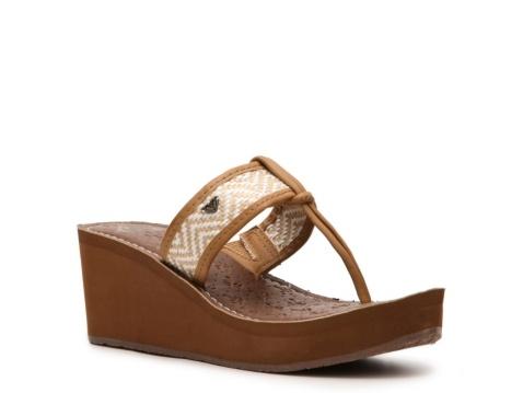 Roxy+Padma+Wedge+Sandal (dsw shoe store