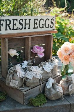 Fresh Eggs as gifts:)