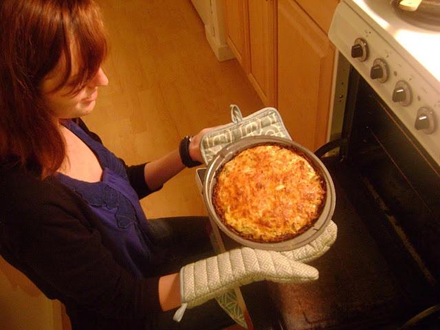 Cauliflower Cheese Pie | Favorite Moosewood Recipes | Pinterest