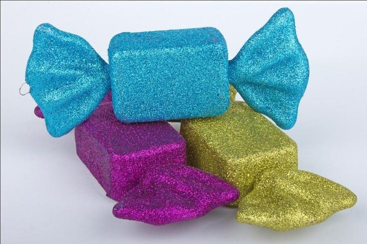 Caramelos gigantes para decorar tu casa esta navidad - Decorar casa navidad manualidades ...
