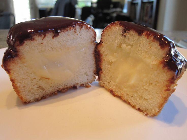 Boston cream pie cupcakes | Recipes - Cupcakes | Pinterest